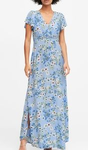 Banana Republic daisy maxi dress size 12